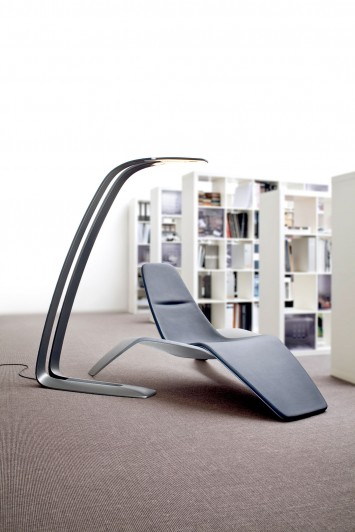 Ford Design Chair and Lamp