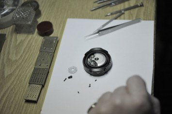 Ford Design Watch construction