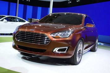 Ford Escort Concept at the 2013 Shanghai Show