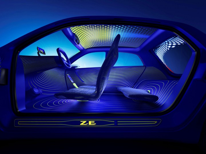 Renault Twin'z Concept Interior