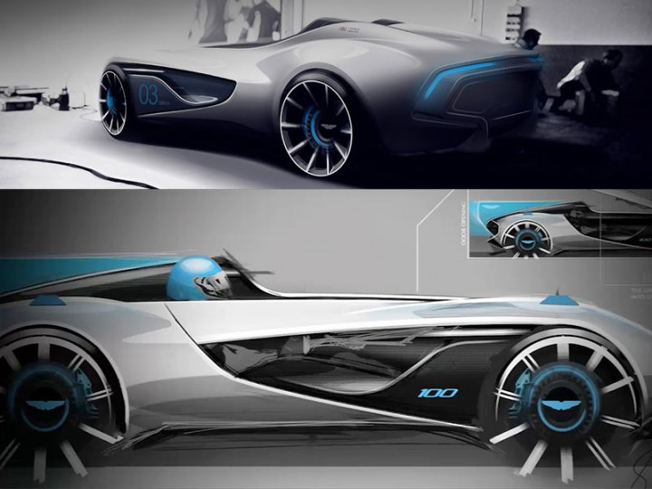 Aston Martin Cc100 Speedster Concept Car Body Design