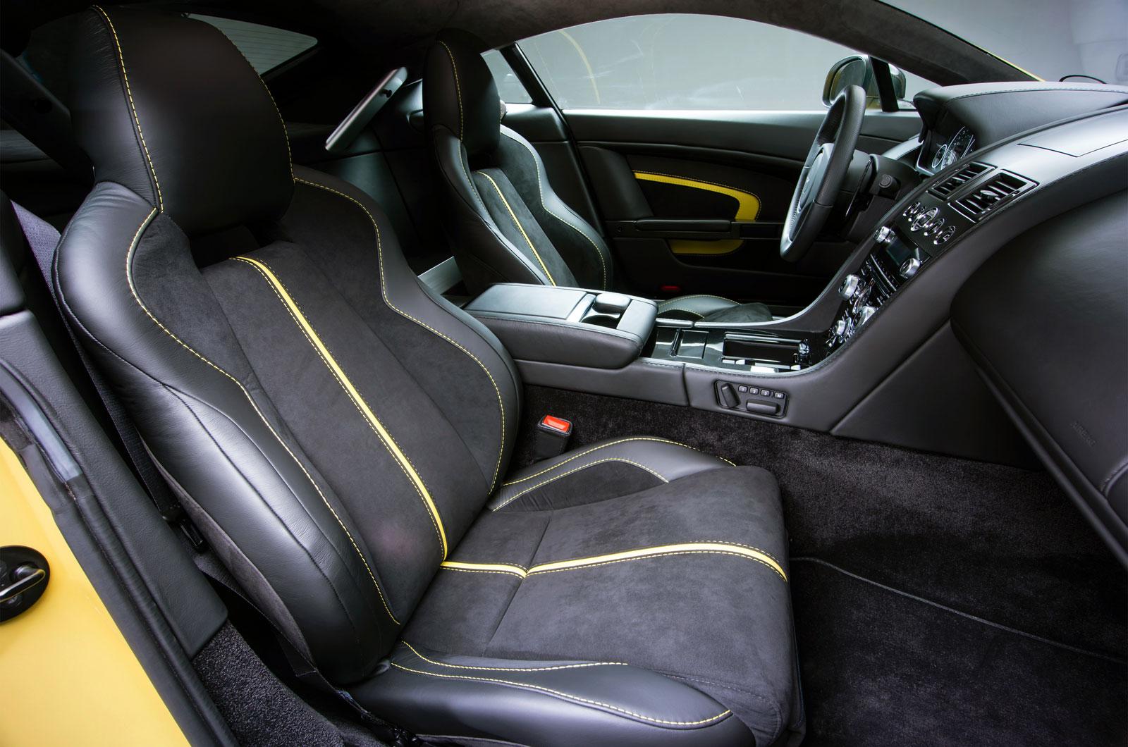 Aston Martin V12 Vantage S Interior Car Body Design