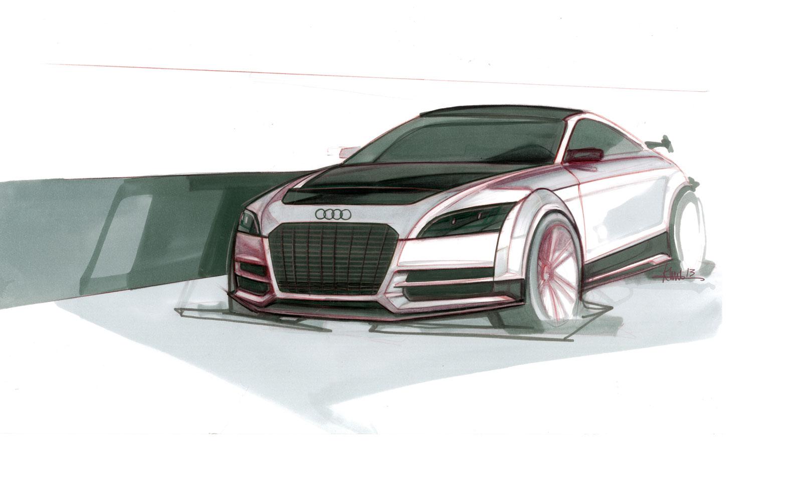 Audi Tt Ultra Quattro Concept Design Sketch Car Body Design