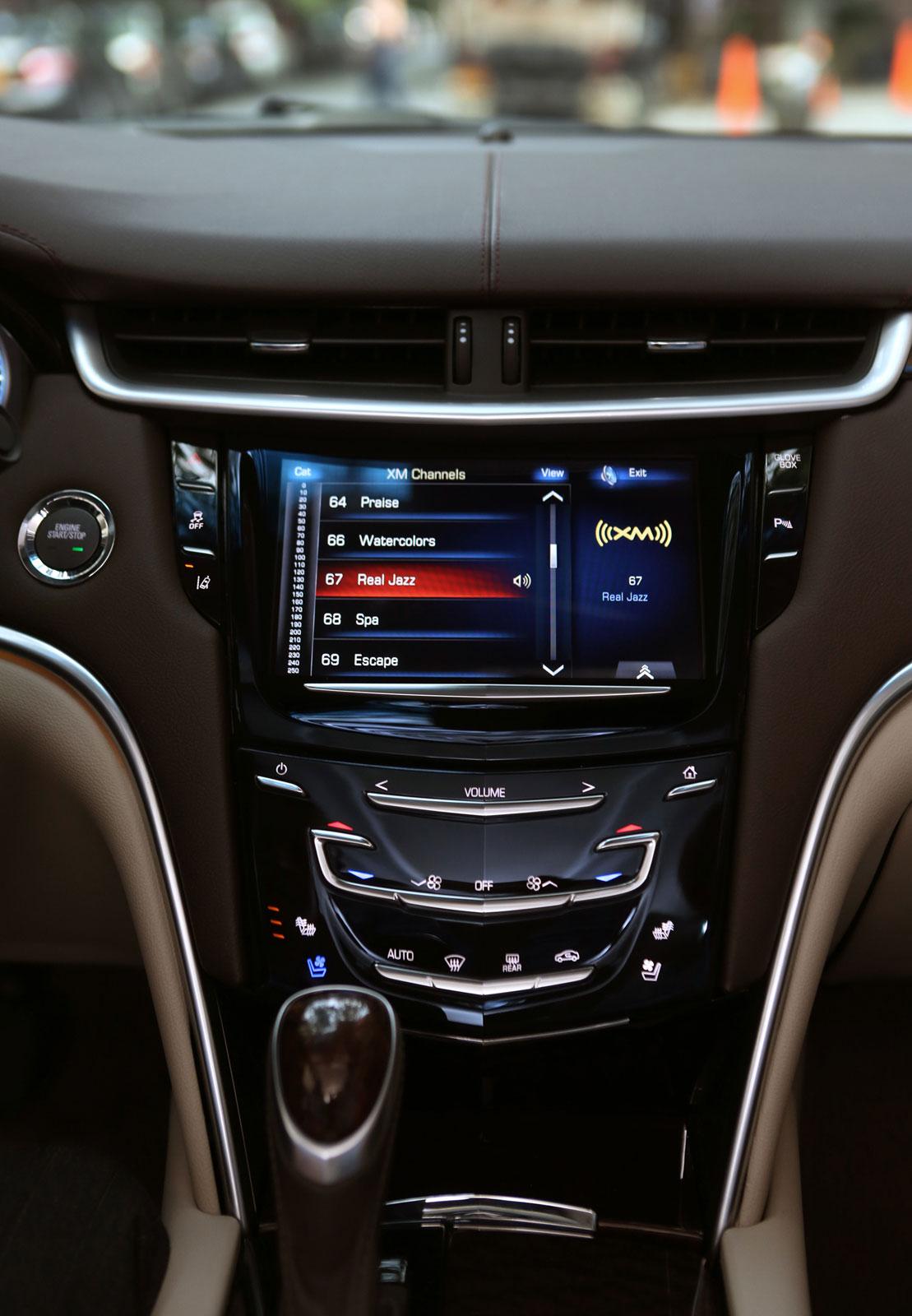 2013 Cadillac Xts Interior Car Body Design
