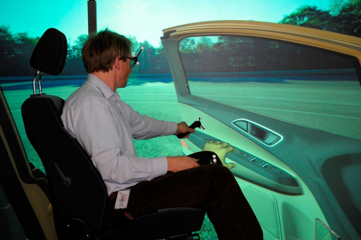virtual reality at ford  3d glasses  virtual projections and 3d printing