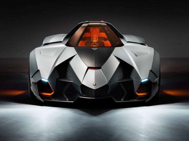 Lamborghini Egoista Concept Car Body Design