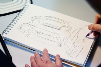 Renault Twin'Run Concept Design Sketching