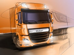 DAF trucks line-up: design story