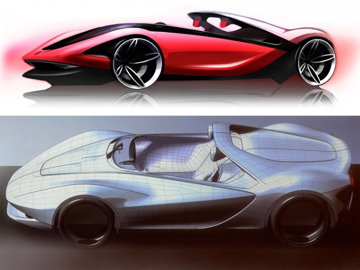 Pininfarina Sergio Concept: the design process