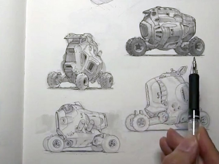 Sketchbook tour with Scott Robertson and Neville Page