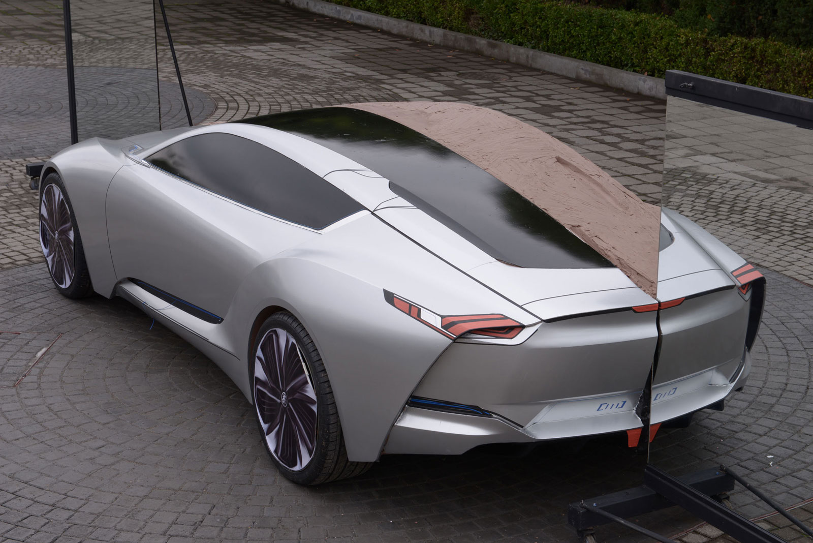 Buick Riviera Concept Clay Early Stage Car Body Design