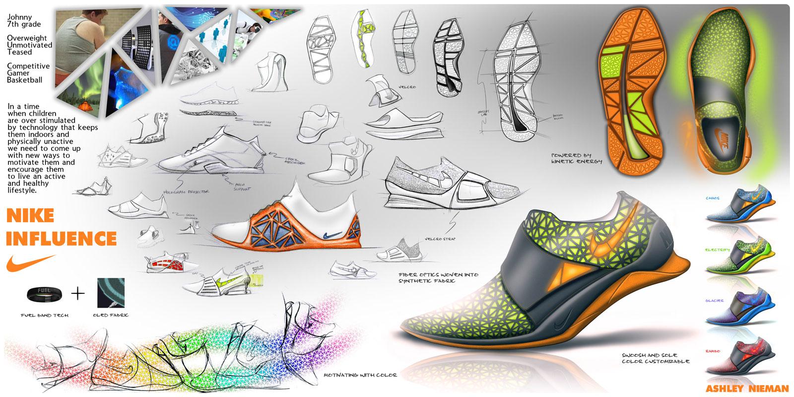 Nike Influence Shoe Concept - Car Body