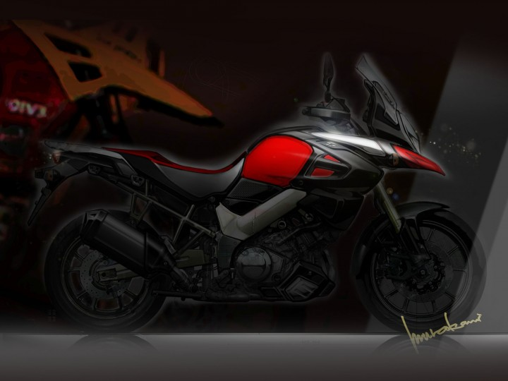 Suzuki V-Strom 1000: interview with the designer