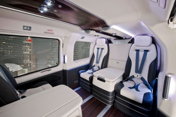 Eurocopter EC145 - Interior by Mercedes-Benz Style