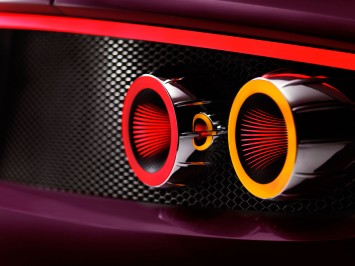 Spyker B6 Venator Spyder Concept - Tail Light