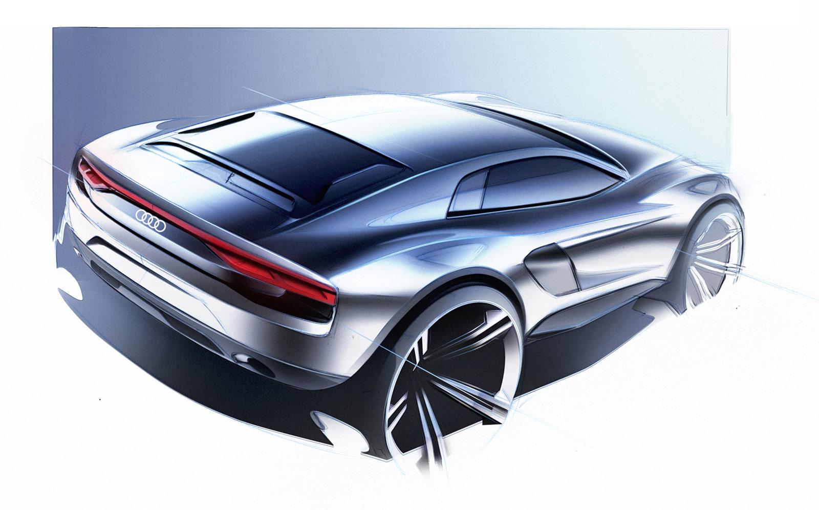 Audi Nanuk Quattro Concept Design Sketch Car Body Design