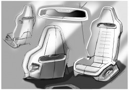 Seat Design Sketch Board Page 3