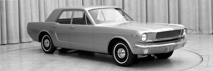 1965 Ford Mustang Four-Door Prototype