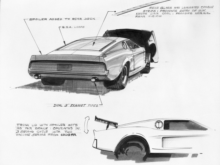 design history ford mustangs that never were car body design 1964 Ford Mustang Factory