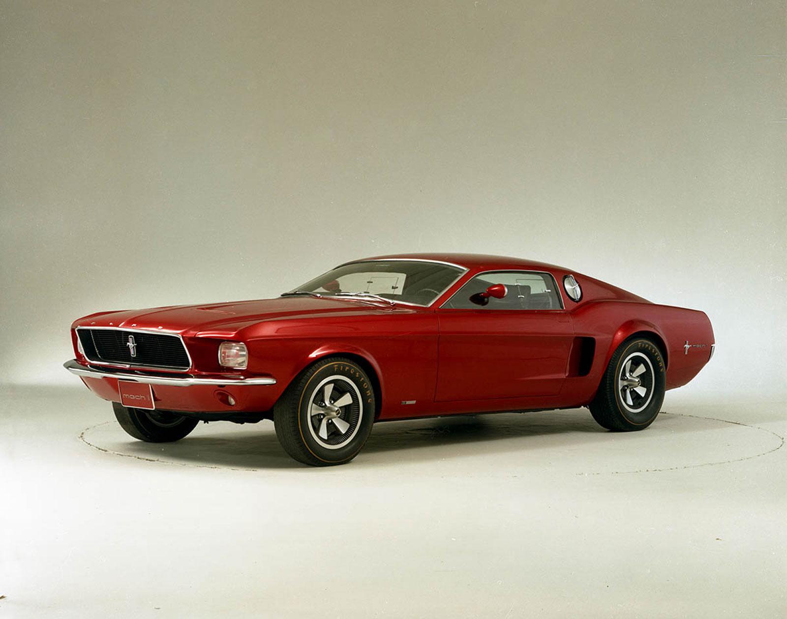1967 Mustang Mach 1