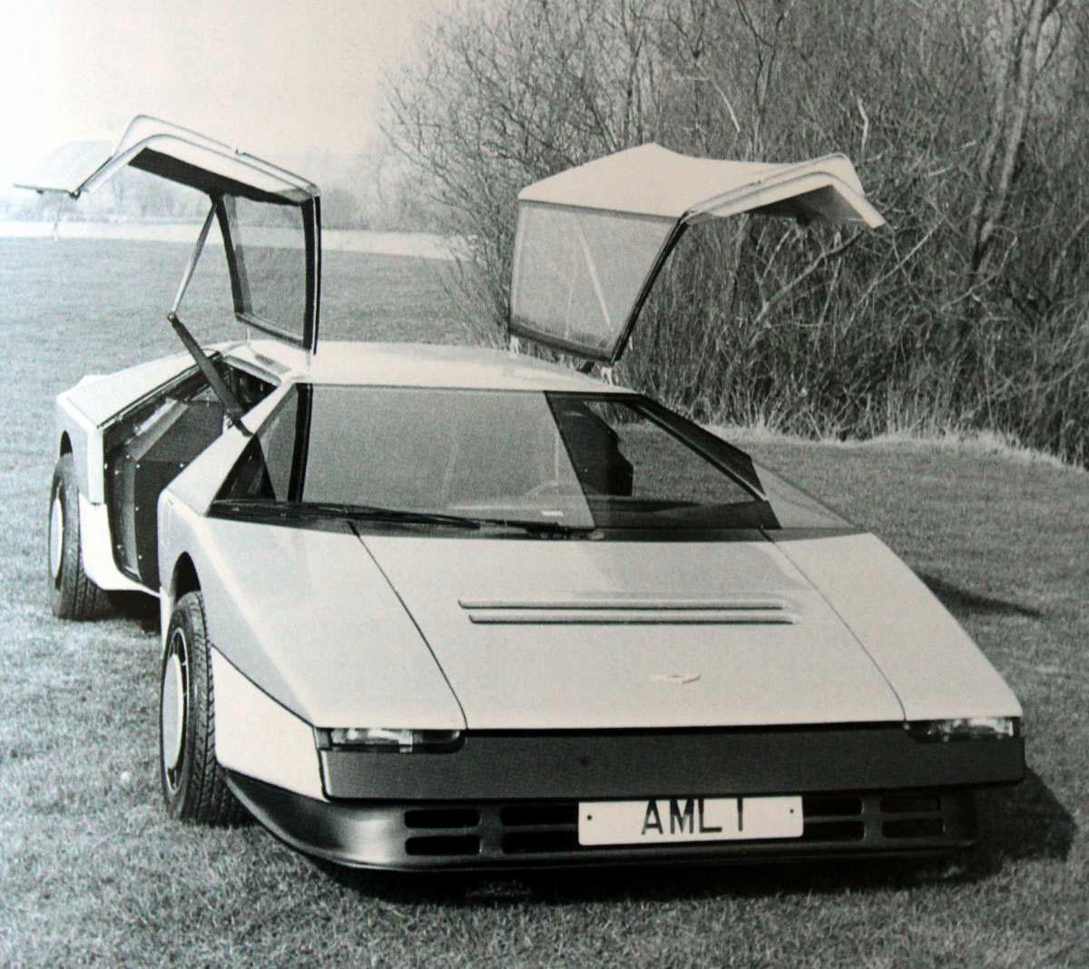 1980 aston martin bulldog concept - car body design