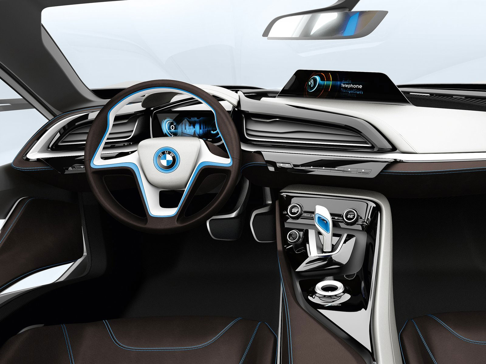 2011 Bmw I8 Concept Interior Car Body Design