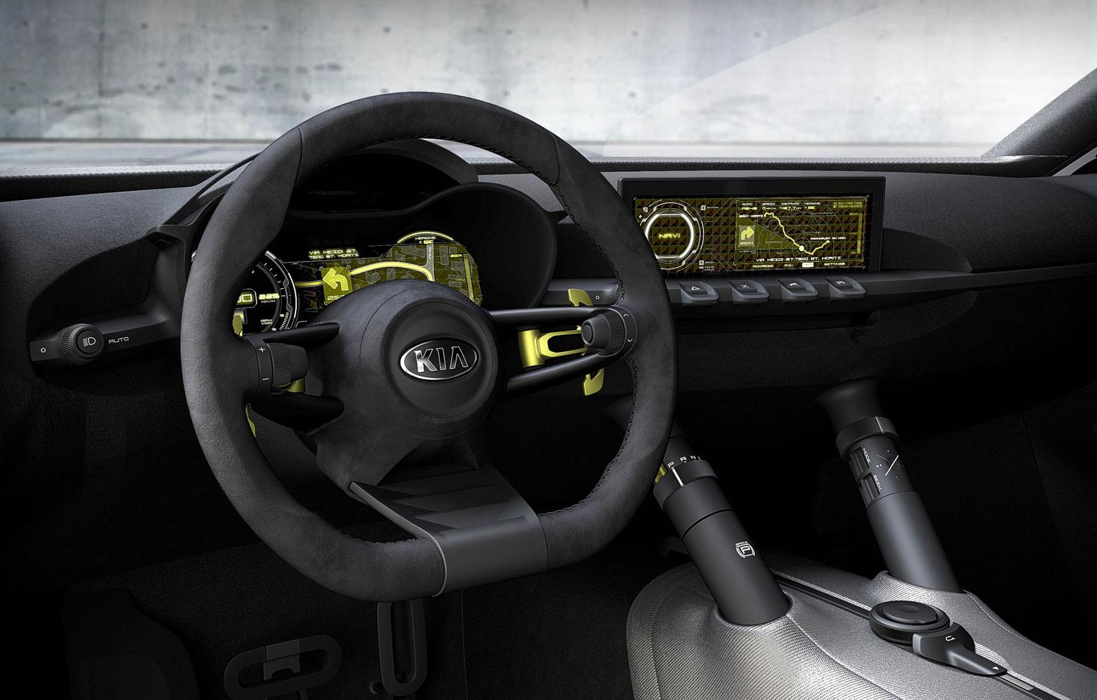 Kia Niro Interior >> Kia Niro Concept Interior Car Body Design