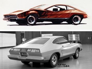 Design History: 1974 Mustang II - from sketch to production