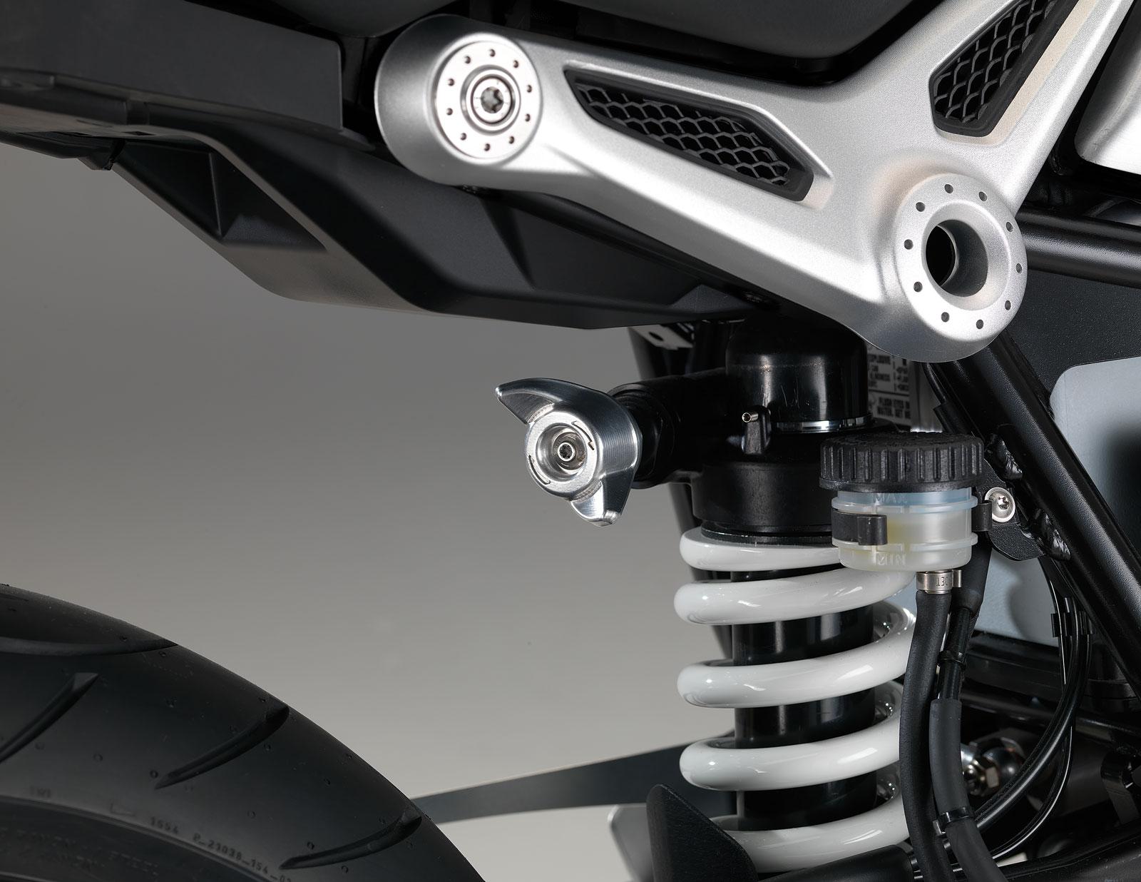 BMW R nineT - Rear suspension - Car Body Design