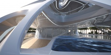 90m JAZZ Superyacht by Zaha Hadid - Pool