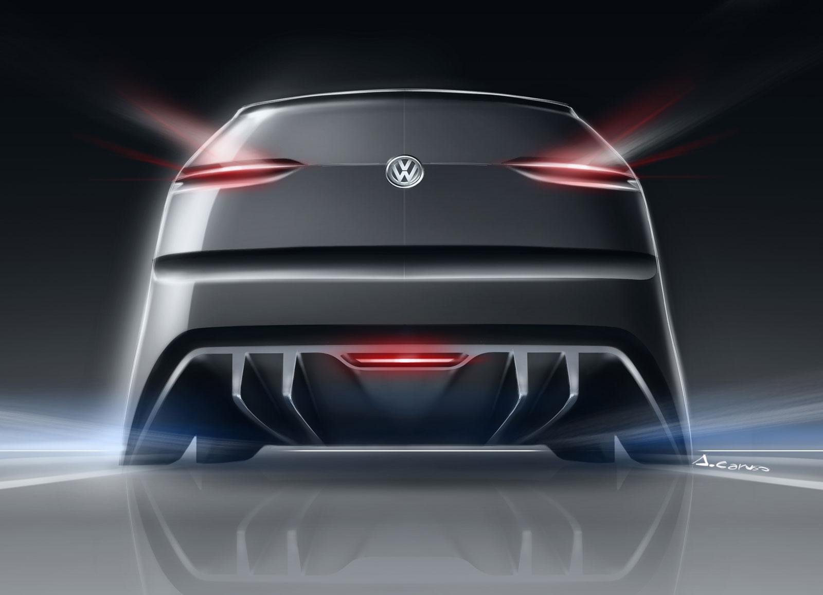 BMW X6 M >> Volkswagen Golf Vision 2020 Concept - Design sketch - Car ...