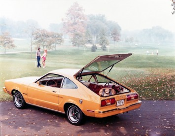 1974 Mustang II with hatchback body style