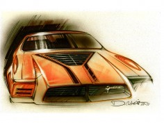 1974 Mustang II: new exclusive images from Ford designer Dick Nesbitt