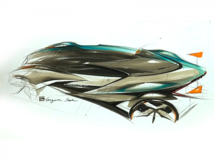 Top View Car Sketching Demo