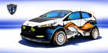 Ford Fiesta ST by Ice Nine Group