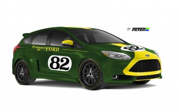Ford Focus ST by Green Filter