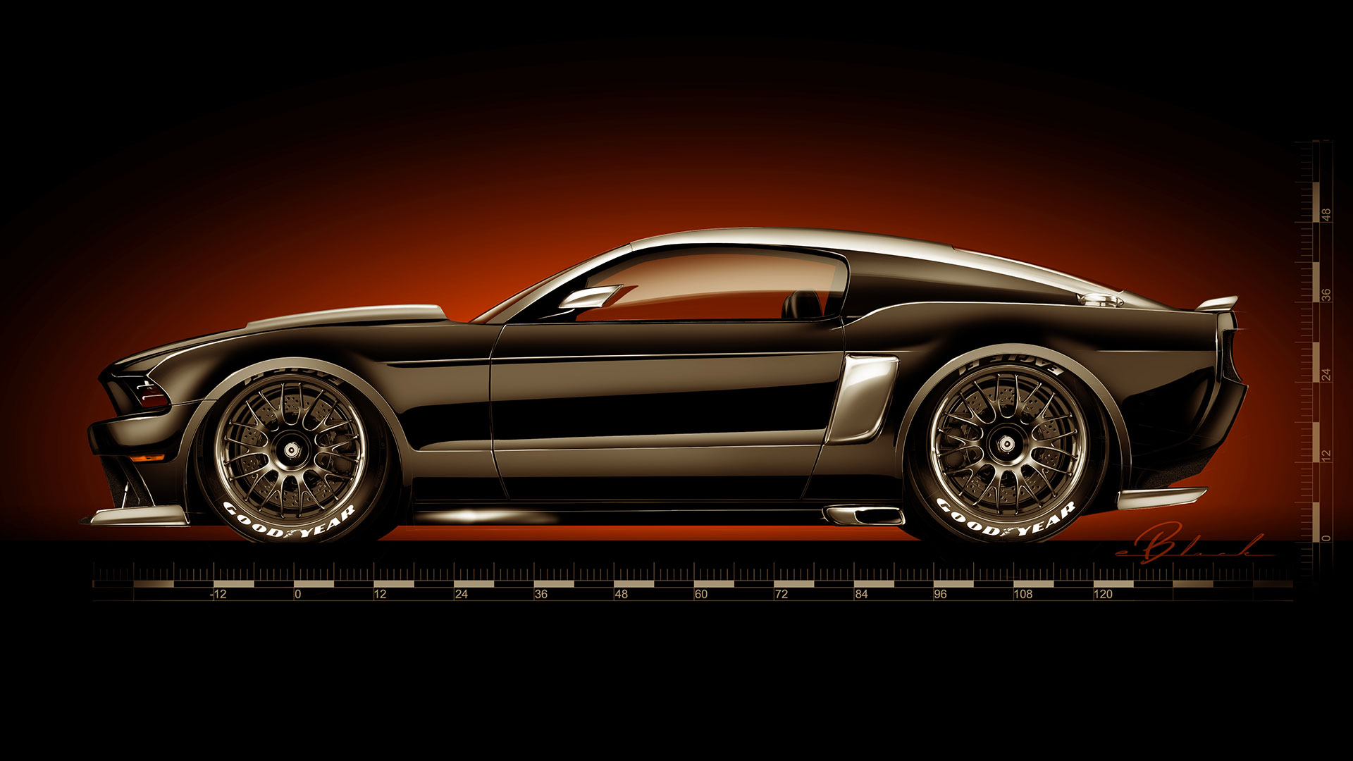 Ford Mustang by Hollywood Hot Rods