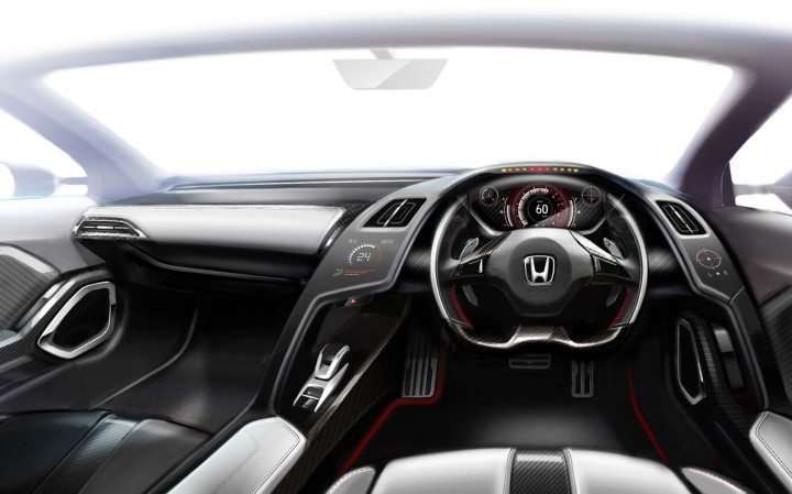 Honda S660 Concept - Interior Design Sketch