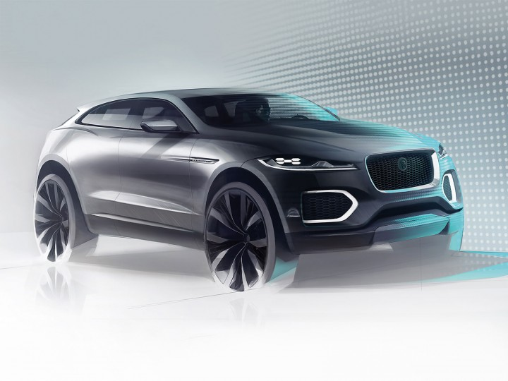 Jaguar C-X17: the design