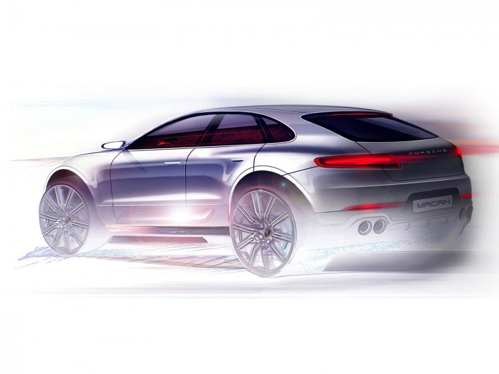 Porsche Macan Design Preview Car Body Design