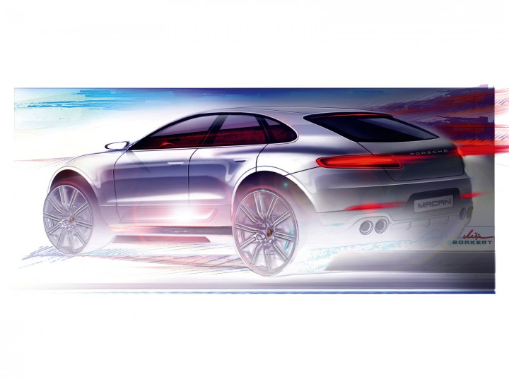 Porsche Macan The Design Car Body Design