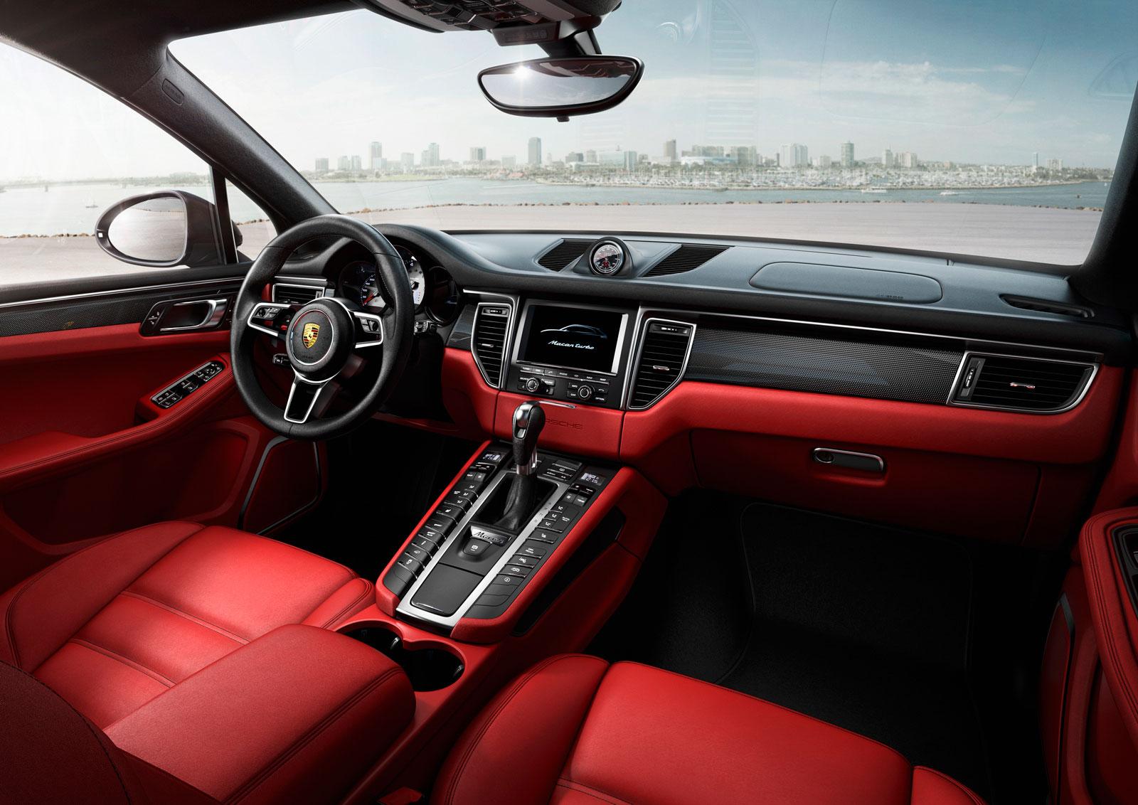 Porsche Macan Turbo Interior Car Body Design