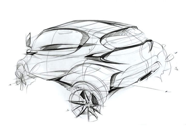Concept Car Sketching Video