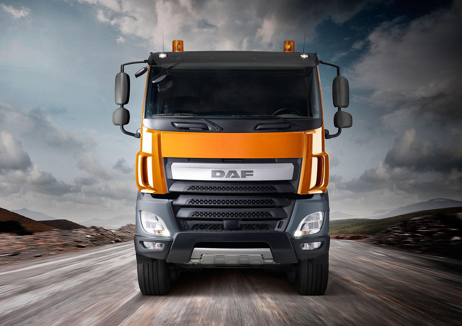 DAF new Euro 6 CF Construction Truck - Car Body Design