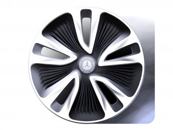 Mercedes-Benz F800 Concept Wheel Sketch