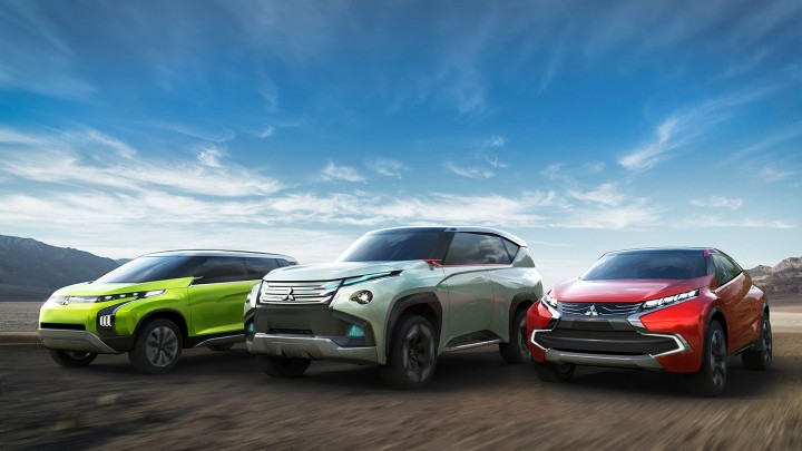Mitsubishi Concept AR, Concept GC-PHEV and Concept XR-PHEV