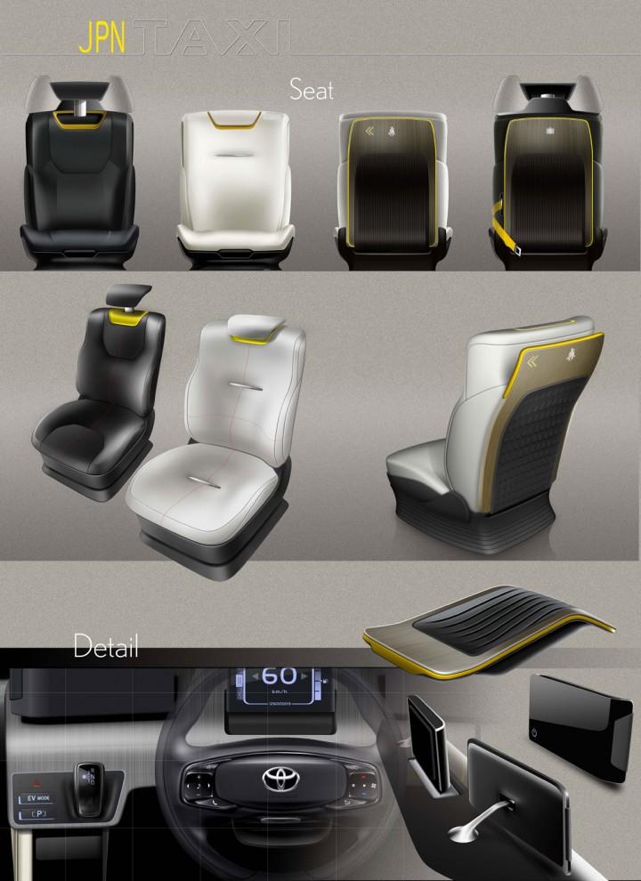 Toyota Jpn Taxi Concept Car Body Design