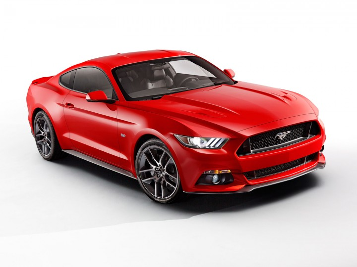 Ford reveals the new Mustang