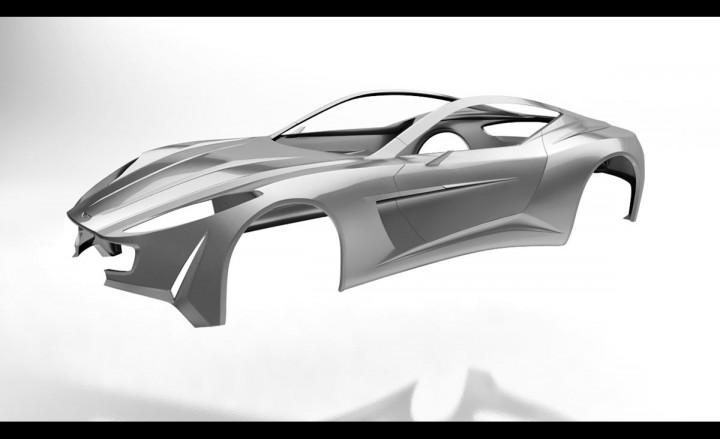 Aston Martin Vie Gh Anniversary 100 Concept Page 17 Car Body Design