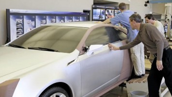 Cadillac Design - Clay modeling process